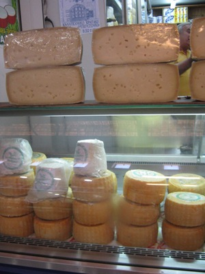 chania market cheese