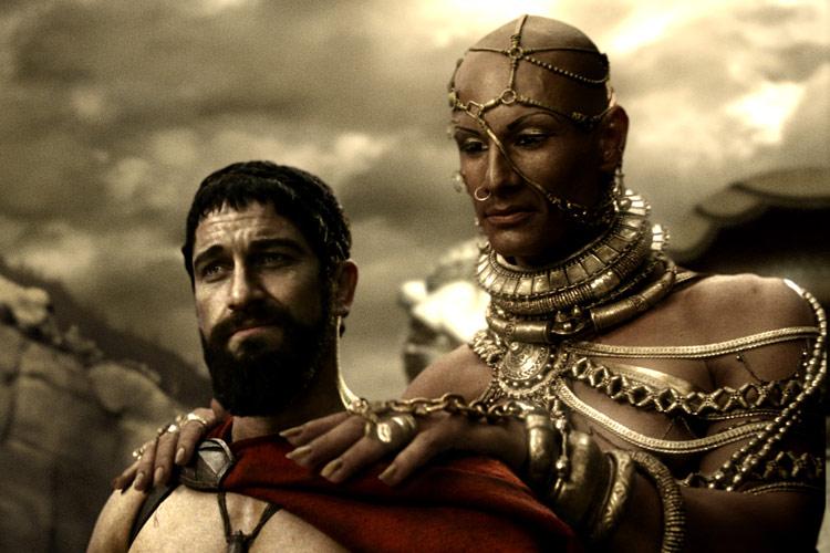 Ксеркс и Леонид — образы из «300 спартанцев» | СУНДУК ДРАКОНА