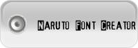 naruto font creator
