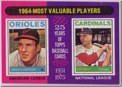 Boyer 1964 MVP