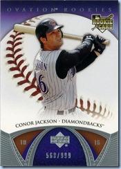 2006 UD Ovation Jackson RC 568 of 999