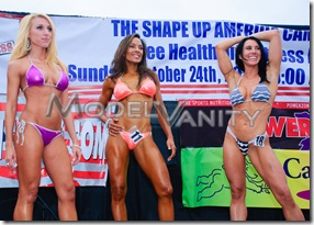 Fitness America Beverly Hills Bikini Contest FBB Athelets 2010