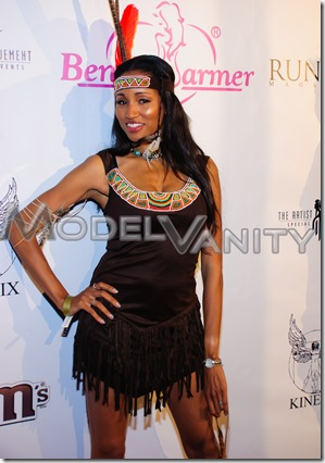MTV 7 Deadly Sins Benchwarmer Red Carpet Arrivals Cabana Club Halloween Hollywood 2010