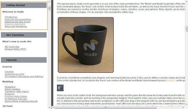 การขึ้นโมเดลแก้วกาแฟตอนที่ 1 - Creating Geometry Modocup01
