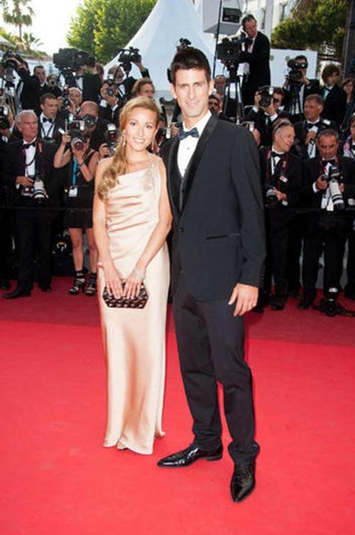 Novak Djokovic y su novia