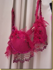 hot pink bra
