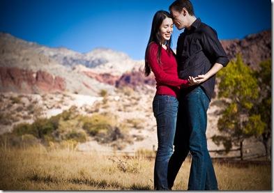 Engagement Red Rock Portrait-6312