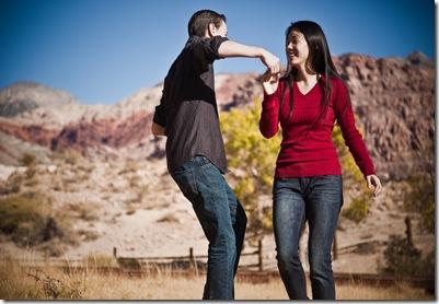 Engagement Red Rock Portrait-6354