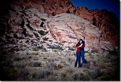 Engagement Red Rock Portrait-2