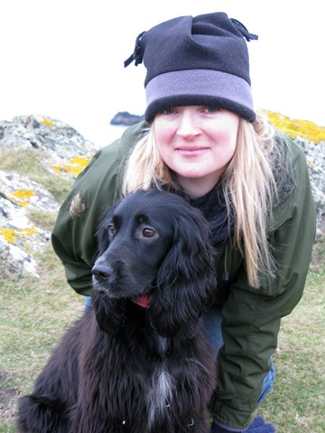lesley & floss on llandwyn
