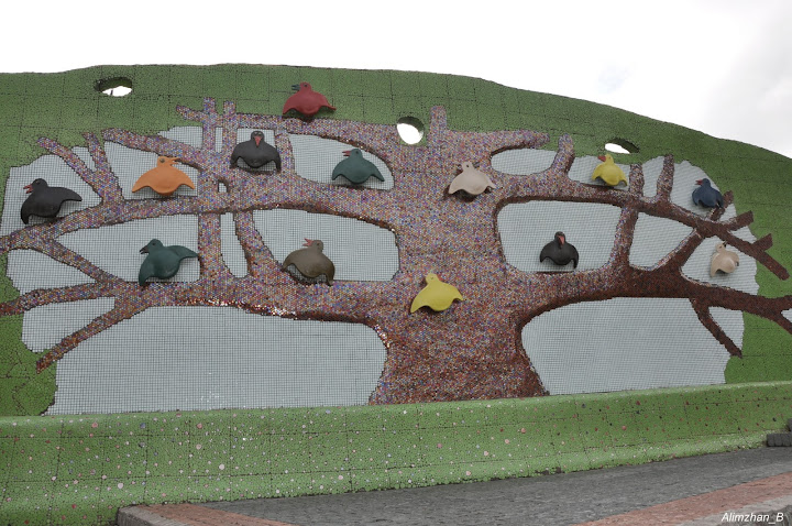 Чудо-дерево с птицами
