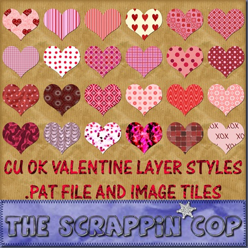 http://thescrappincop.blogspot.com/2010/01/cu-ok-valentine-patterns-styles-and.html