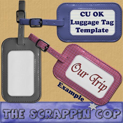 Luggage Tags, Custom Travel Bag Tag.