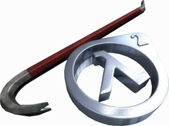 Half_Life_2_Crowbar_and_Lambda_by_SgtHK