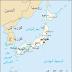 خريطة اليابان بالعربي - Map of Japan in Arabic