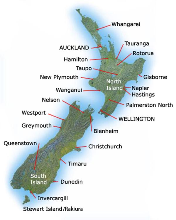 معلومات عن نيوزيلندا 2015