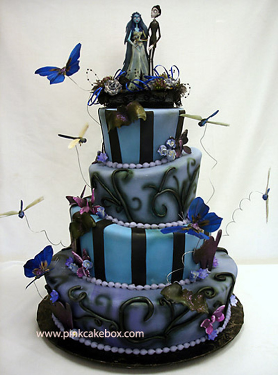 paper olive • the blog: cake chic • a halloween wedding