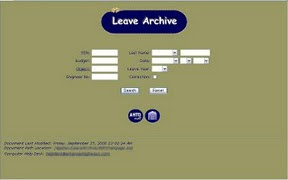 Leave Archive Old Layout