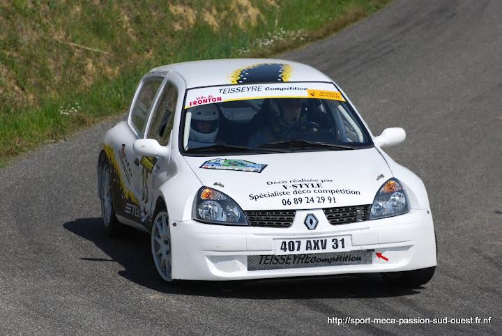 Cédric TEISSEYRE / Valérie TIRBOIS - Clio RS F214 Rallye%20du%20Frontonnais%202010%20473