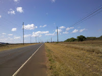 Near the end of Kaumualii Highway