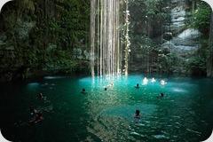 Mexico, Yucatan, Cenote Viaggio di Nozze