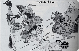 Battle_Spanish_Otomies_Metztitlan