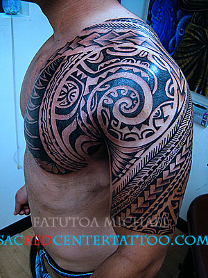 Samoan tattoo. With modernization even the tattoo designs have changed and
