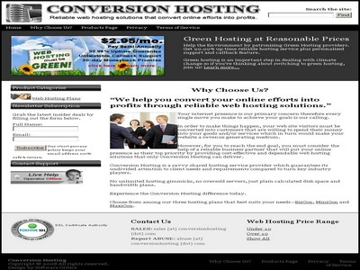 Conversion Hosting