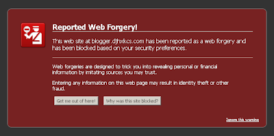 Web Forgery on Firefox