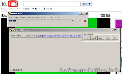 Improved YouTube Downloader