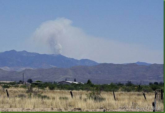 7710 - Wildfire in Chiricahua Mtns
