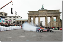 Lo show di Vettel a Berlino