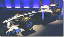 La livrea 2011 della Williams
