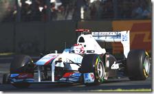 Le due Sauber sono state escluse dalla classifica finale del gran premio d'Australia 2011