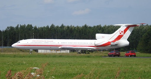 Polish Government Tu-154 Transport