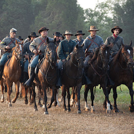 Cavalry headed to the battle by Brent Morris - News & Events US Events