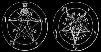 baphomet-pentagrams