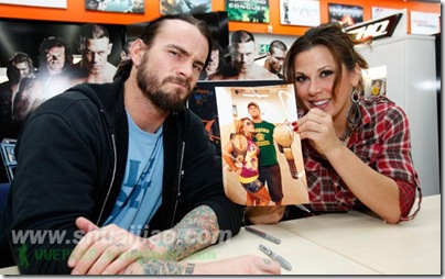CM Punk Mickie James