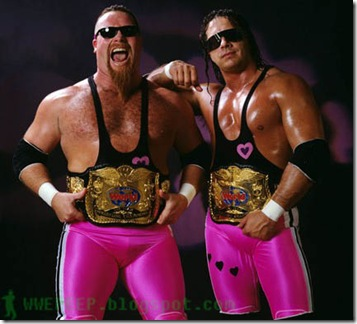7 The Hart Foundation Tag champ