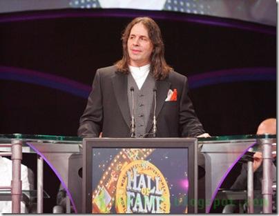 25 Bret Hart Hall of Fame Class of 2006