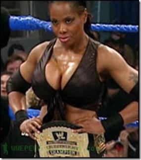12 WWE Cruiserweight Champion Jacqueline