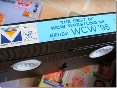 VDO VHS WWF WCW WWE 8