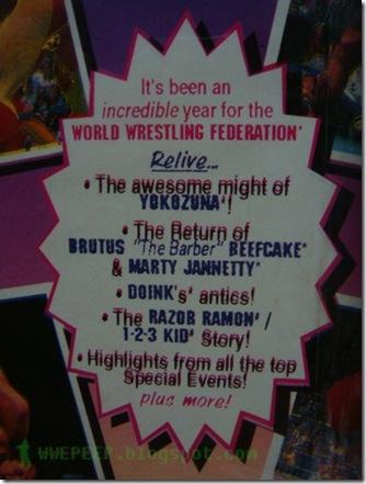VDO VHS WWF WCW WWE 19