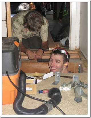 Eloise 9 months, Christmas 09, House Projects 003