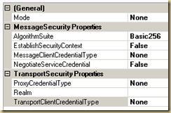 Aggregated Intelligence: Setting up WCF Configuration using the