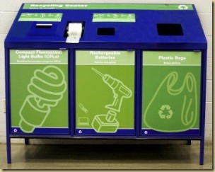 Lowes CFL recycling center