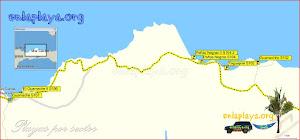 El Guamache - Playas desde El Guamache hasta Guamachito