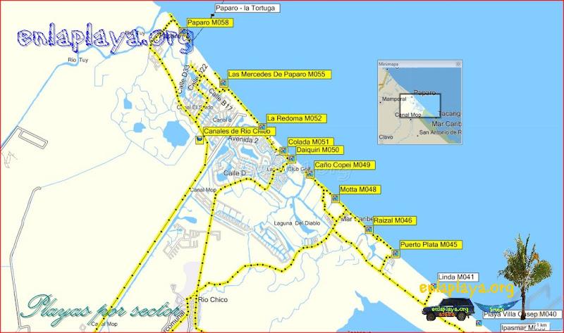 Río Chico - Playas desde Puerto Plata hasta Paparo
