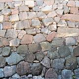 初期の石垣。