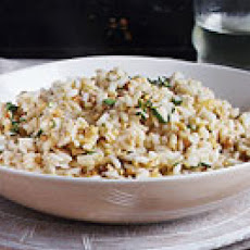 Tuscan-Style Risotto with Fresh Walnuts